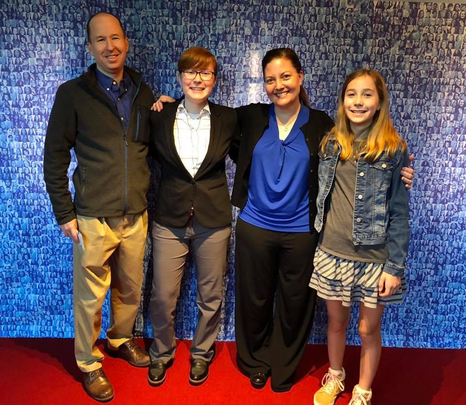 photo of Melissa's family