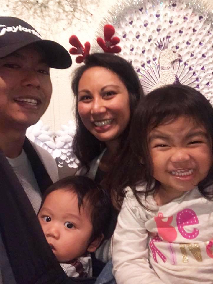 Regan and family