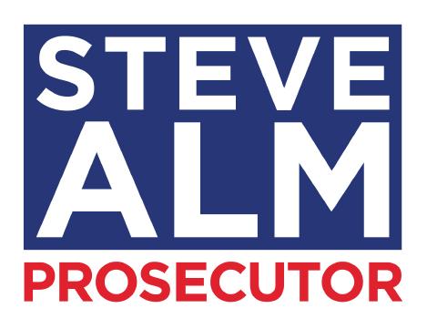 steve alm for prosecutor