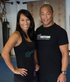 Egan and Marcia Inoue