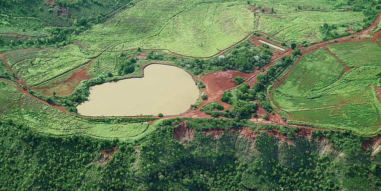 Puu Opae is one of three reservoirs to be rehabilitated as part of the project. The image above represents the reservoir once the project is complete. The project area spans portions of Kokee, Waimea and Kekaha.