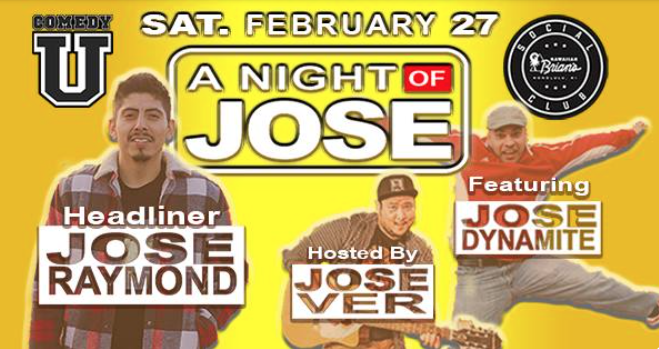 Jose Ver '04 in A Night of Jose
