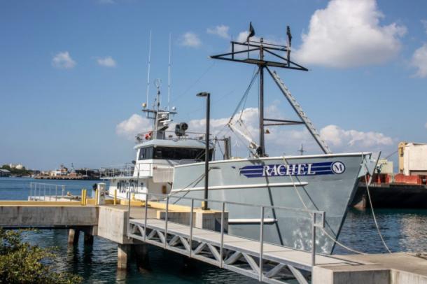 Miske's long line tuna boat Rachel