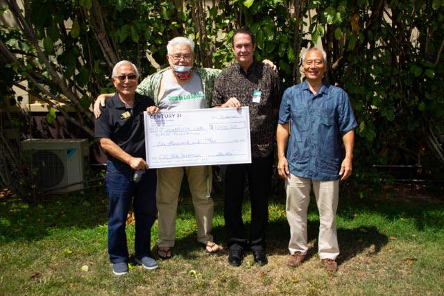 Abe Lee, Lanning Lee, Keoni Jeremiah, and Scott Yamashita.